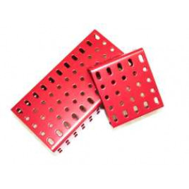 2mm-flanged plates