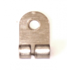 Rod and Strip Connector Right Angle, Stainless