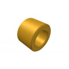 Distance sleeve, 5mm, brass