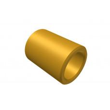 Distance sleeve, 8mm, brass