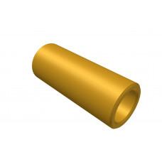 Distance sleeve, 15mm, brass