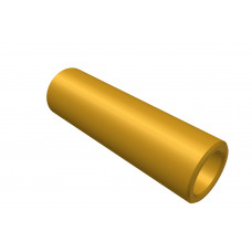 Distance sleeve, 20mm, brass