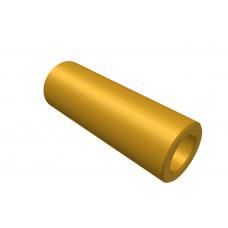 Distance sleeve, 20mm, brass