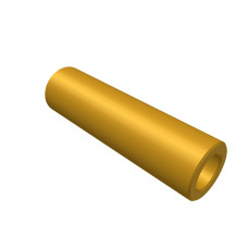Distance sleeve, 25mm, brass