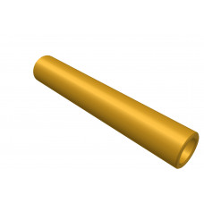 Distance sleeve, 35mm, brass