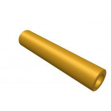 Distance sleeve, 35mm, brass