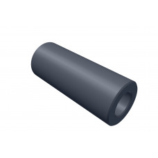 Distance sleeve, 20mm, polystrole, black