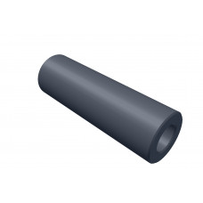 Distance sleeve, 25mm, polystrole, black