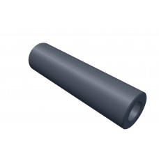 Distance sleeve, 30mm, polystrole, black