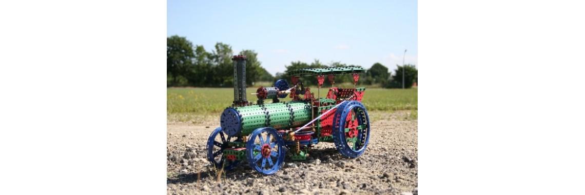 Steam locomobile