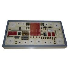 Gear set \'Abt\', 260 parts, M4 threads, 38DPI, Delrin
