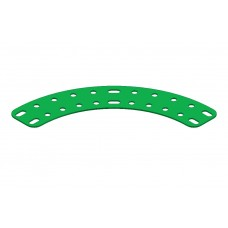 Flat curved girder, 11 holes
