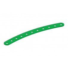 Curved strip, 11 holes