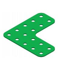 Flat girder bracket, 5 x 5 holes
