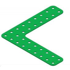 Flat girder bracket, 9 x 9 holes