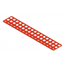 Girder strip, 17 holes, type 4