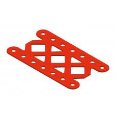 Double braced girder, 7 holes, type 6