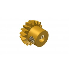 Bevel gear 16t; 38DPI; meshes with 5003-48