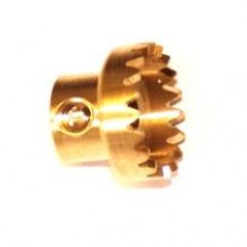 Contrate gear 19t; 38DPI; 2 x M4 threads