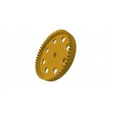 Contrate gear 50t, 38DPI; 2 x M4 threads