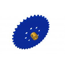 Sprocket wheel 37t, for Märklin chain, 2 x M4 threads