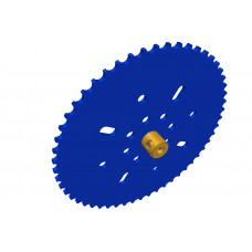 Sprocket wheel 53t, for Märklin chain, 2 x M4 threads