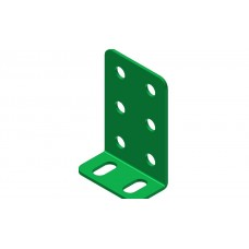 Double L-section angle girder, 2 holes