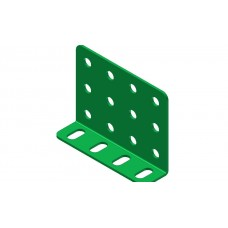 Double L-section angle girder, 4 holes