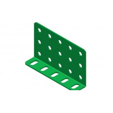 Double L-section angle girder, 5 holes