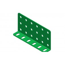 Double L-section angle girder, 6 holes