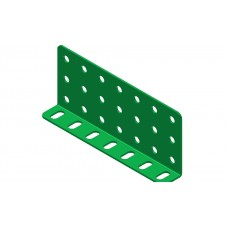 Double L-section angle girder, 7 holes