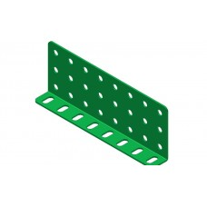 Double L-section angle girder, 8 holes