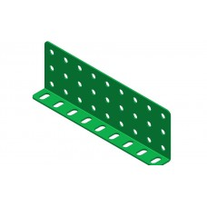 Double L-section angle girder, 9 holes