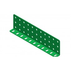 Double L-section angle girder, 11 holes