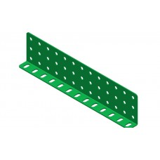Double L-section angle girder, 13 holes