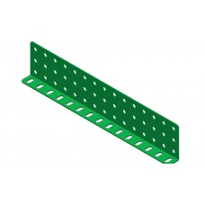 Double L-section angle girder, 15 holes