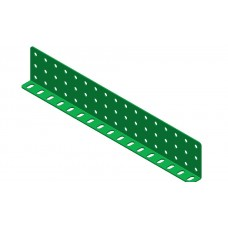 Double L-section angle girder, 17 holes