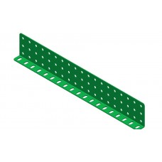Double L-section angle girder, 19 holes