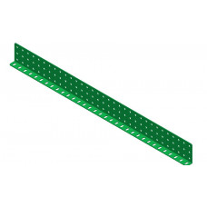 Double L-section angle girder, 33 holes