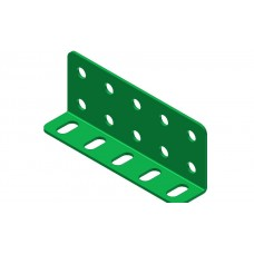 L-section angle girder, 5 holes