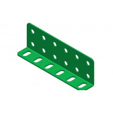 L-section angle girder, 6 holes