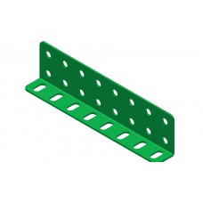 L-section angle girder, 8 holes