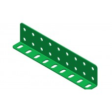 L-section angle girder, 9 holes