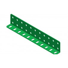 L-section angle girder, 11 holes