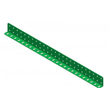 L-section angle girder, 25 holes