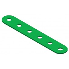 Perforated strip, 6 holes
