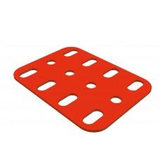 Flat plate, 3 x 4 holes
