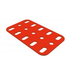 Flat plate, 3 x 5 holes