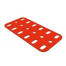 Flat plate, 3 x 6 holes