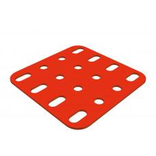 Flat plate, 4 x 4 holes
